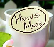 Papier - Samolepka Hand Made - 7514340_