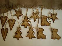 Medové vianočné ozdoby