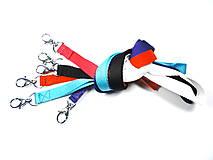 Farebné šnúrky na mobil alebo kľúče