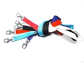 Iné doplnky - Farebné šnúrky na mobil alebo kľúče - 7511086_