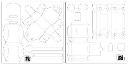 Pomôcky/Nástroje - LP03 Plastové šablóny – 4 boxy. - 7513193_