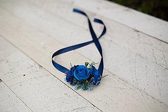 """Náramky - Kvetinový náramok """"len kúsok neba"""" - 7510630_"""