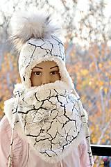 Zimný set cracked earth & fleece cream