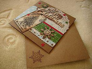Papiernictvo - Pohľadnica s priečinkom na fotku - 7511817_