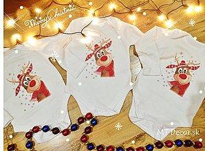 Detské oblečenie - VIANOČNÉ BODY posledne veľkosť 9-12, 12-18 !!! - 7511219_