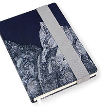 Papiernictvo - Zápisník A6 Hory - 7512417_