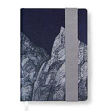 Papiernictvo - Zápisník A6 Hory - 7512418_