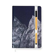 Papiernictvo - Zápisník A5 Hory - 7512465_