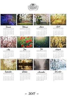 Grafika - Nástenný kalendár 2017 - 7512460_