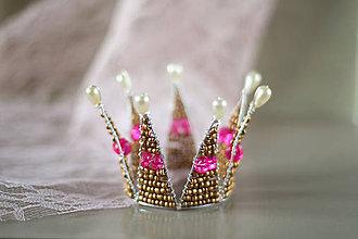 Ozdoby do vlasov - královská korunka - 7515895_