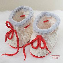 Topánočky - Papučky - topánočky na zimu - 7518403_