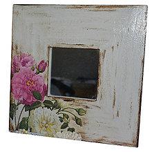 Zrkadlá - ZRKADLO ruže 26x26 cm - 7521102_