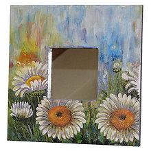 Zrkadlá - ZRKADLO 26x26 cm (MARGARÉTY) - 7521110_