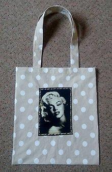 Nákupné tašky - Látková taška MARILYN - 7517101_