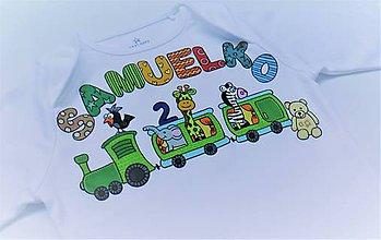 Detské oblečenie - Body na želanie - 7520942_