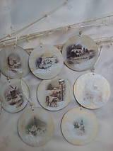 Dekorácie - Vianočné ozdoby Zimná krajinka - 7516750_