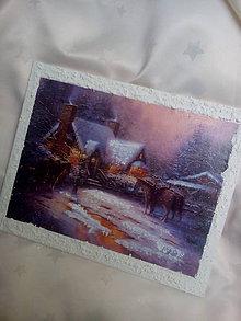 Obrázky - Obrázok Zimný večer - 7516671_