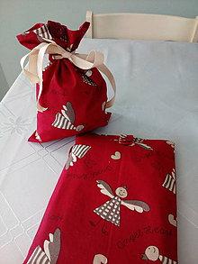 Úžitkový textil - Vrecúško na darček - 7520444_