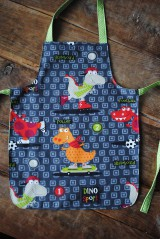 Detské oblečenie - Zástera dinosaurus pre chlapca - 7519259_
