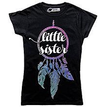 Tričká - Little sister - 7520901_