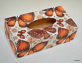 Krabičky - Box v oranžovom - 7516604_