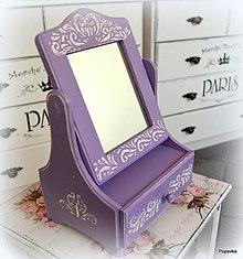 Krabičky - Fialkove zrkadielko - 7516806_