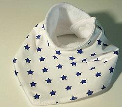 Detské doplnky - šatka hviezdičkova - 7517052_