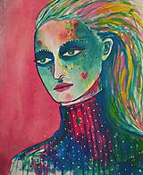 Kresby - Portrét zimy - 7521154_