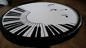 Nábytok - Klavírna stolička - predaná - 7518004_