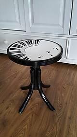 Nábytok - Klavírna stolička - predaná - 7518026_