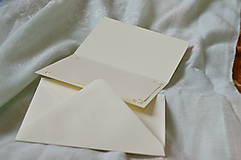 Papiernictvo - Vyšívaná pohľadnica - family - 7517830_
