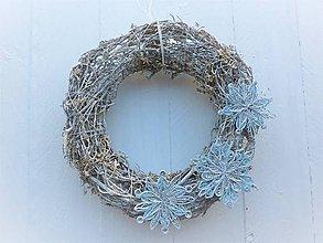 Dekorácie - vianočný veniec - 7518546_