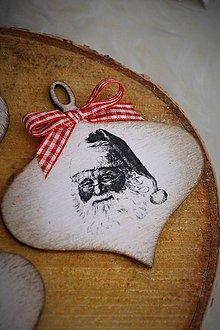 Dekorácie - Ozdoby Santa Claus - 7520169_