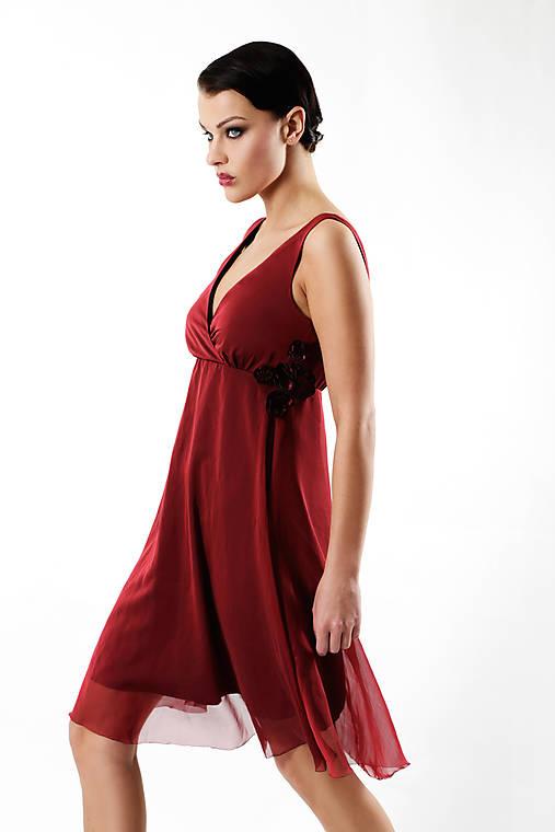 Little red   ceccilia - SAShE.sk - Handmade Šaty 43f0519cc19