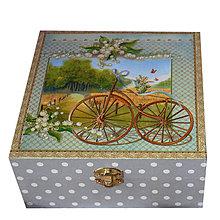 Krabičky - KRABICA HRANATÁ (VÁNOK VO VLASOCH) - 7522408_
