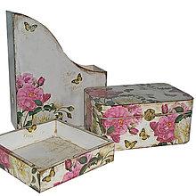 Krabičky - SÚPRAVA/ SÉRIA (VINTAGE ROSE) - 7524738_