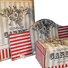 Krabičky - SÚPRAVA/ SÉRIA (TRIO SUMMER GARDEN) - 7526147_