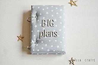 Papiernictvo - Hladkací zápisník - BIG plans - 7523926_