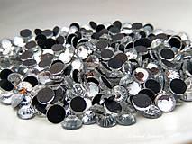 Galantéria - Hot fix 5 mm Crystal - 100 kusov - 7524647_