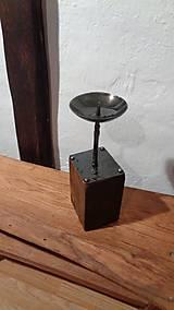 Svietidlá a sviečky - Stĺpikový svietnik, malý - 7525153_