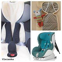 Textil - Univerzálna vložka do autosedačky 100% Merino 9-18 kg - 7523040_