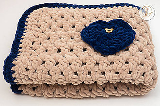Textil - Háčkovaná detská deka - 7523817_