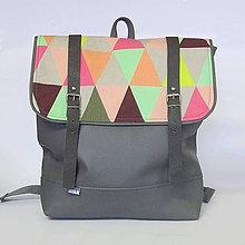 Batohy - Batoh (Triangel šedý) - 7521481_