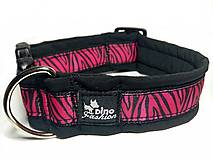 Obojok Pink Zebra
