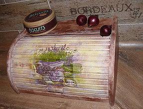 Nádoby - Chlebník do rustikálnej kuchyne :) - 7525030_