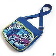 Detské tašky - for KIDS - Butterfly (blue) - 7526094_