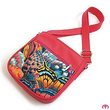 Detské tašky - for KIDS - Butterfly (raspberry) - 7526104_
