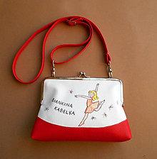 Detské tašky - tanečnica - 7524062_