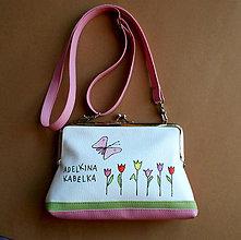 Detské tašky - adelkina s tulipánmi - 7524083_