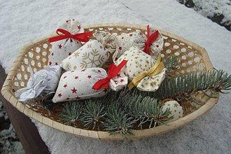 Dekorácie - Vianočné levandulové vrecká - 7522457_